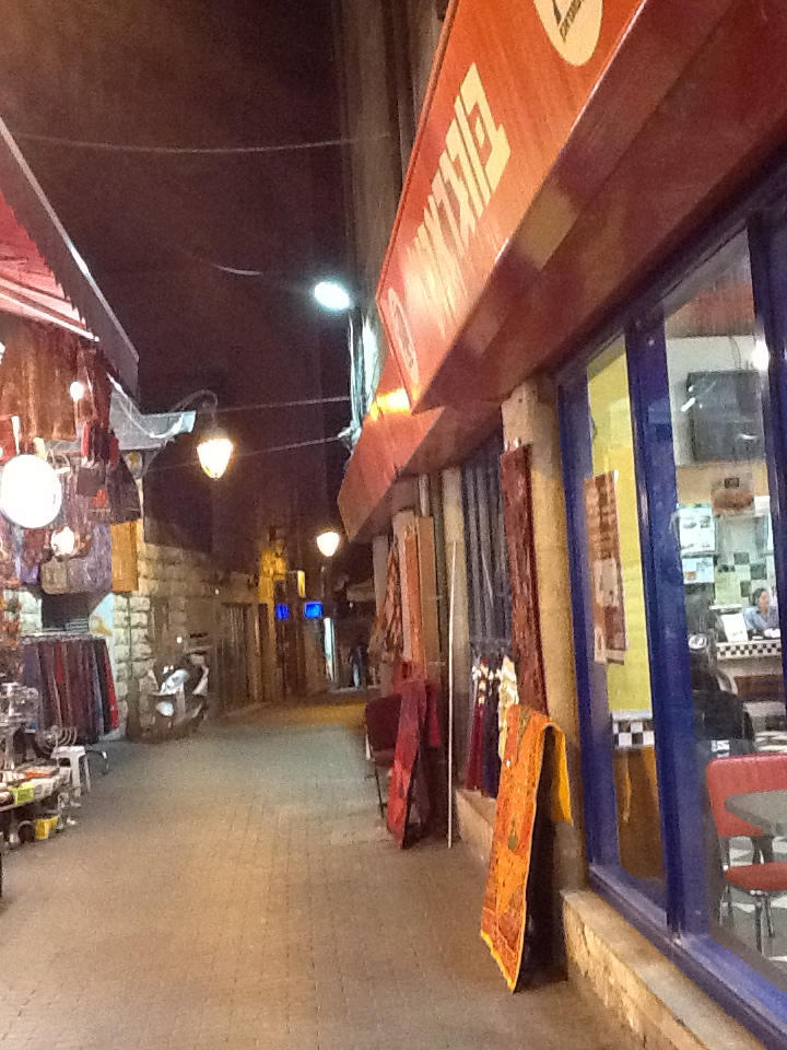 Alley Bookstore in Jerusalem - Next Year in Jerusalem